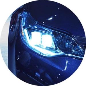 Lighting of passenger's compartment, intelligent signaling, intelligent lights