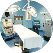 Lighting of surgical block, therapeutic light